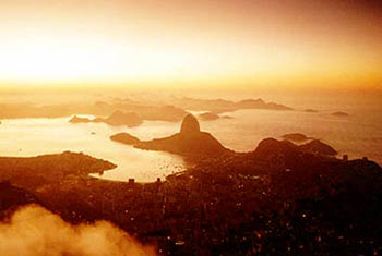 Beautiful Guanabara Bay Sunset