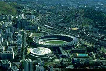 The Maracanã Stadium (Cradle of soccer)